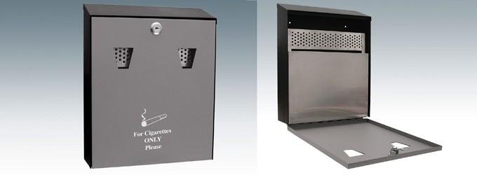 Ash Bin Metal with inner box