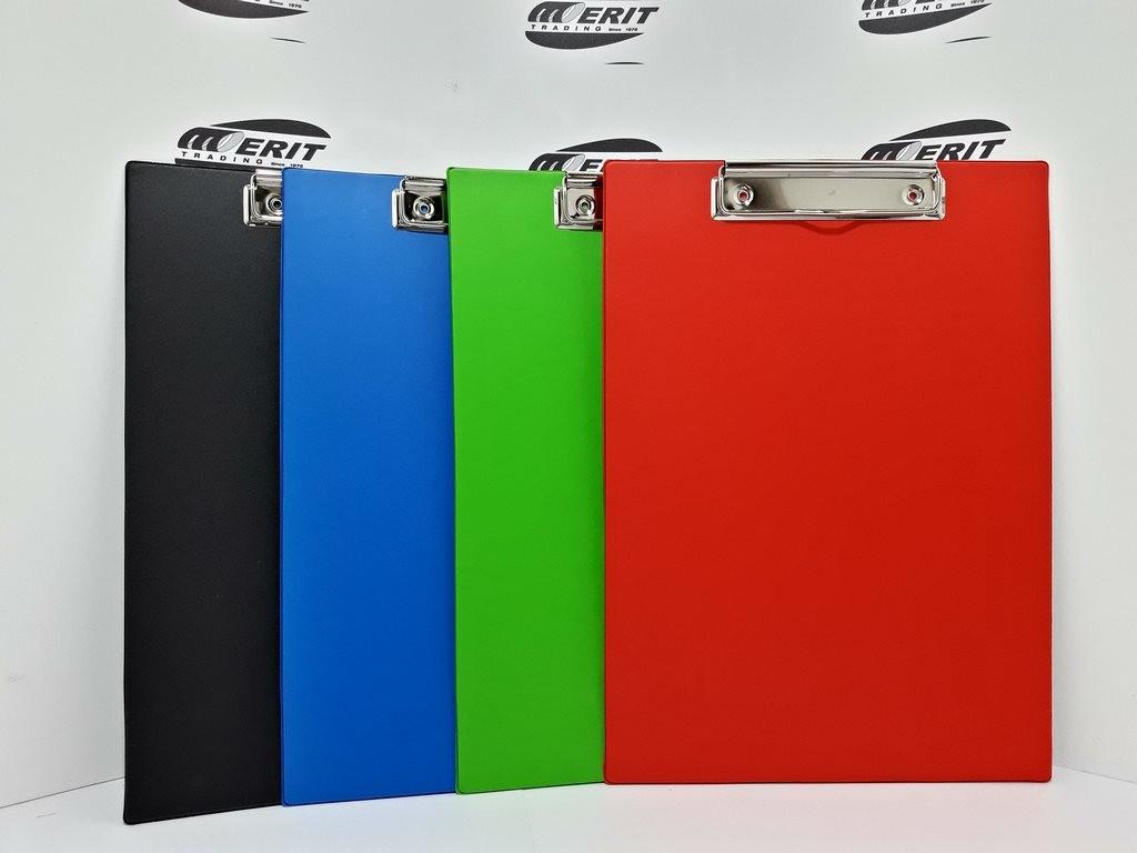 Clip Board Single Assorted Colour