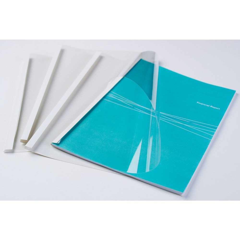 Thermal Binding Covers White 1.5mm