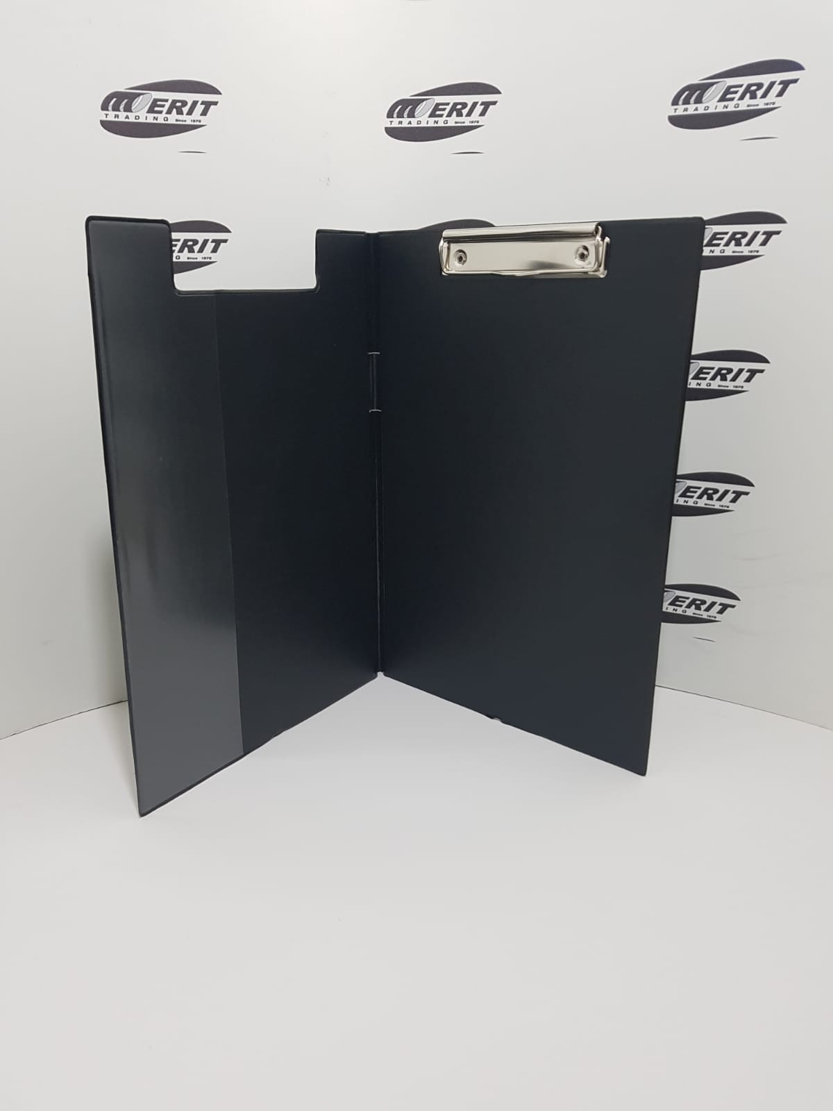 Clip Board Fold Over - BLACK
