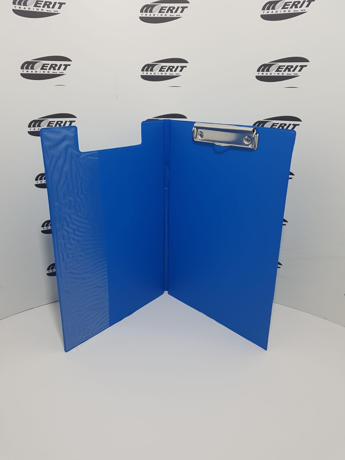 Clip Board Fold Over - BLUE