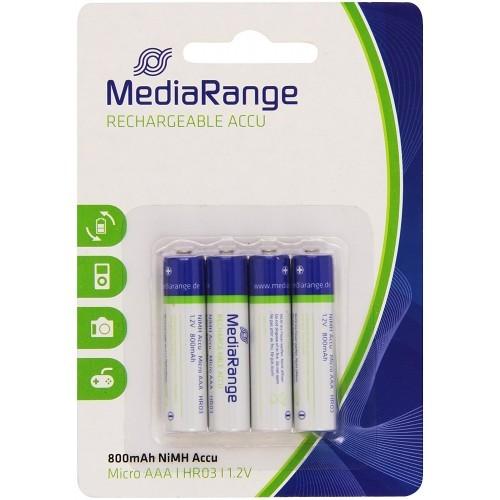 Battery AAA - Recharge Media Range