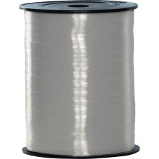 Poly Ribbon 5mm x 500 mts Metallic Silver