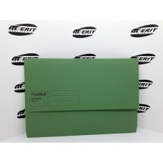 Document Wallet F/C Green