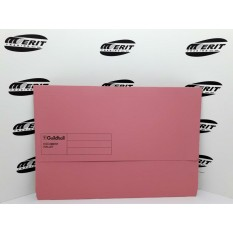 Document Wallet F/C Pink