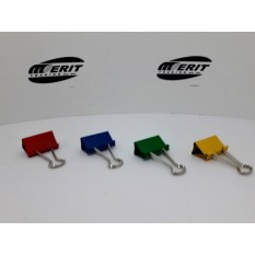 Fold Back Clips Size 32mm - Coloured