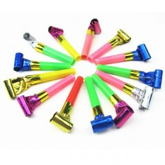 Party Whistle pack of 6