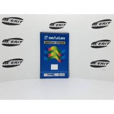 5 x 8 - Top Spiral - Short Hand Note Book L / S ( x 12 )