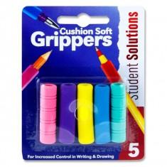 Pencil Rubber Gripper 5 Asst