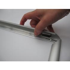 Snap Frame Aluminium A4