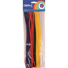 Chennille / Pipe Cleaner Pastel x 50 ( 1 x 5 )