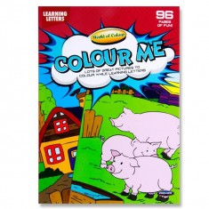 Colouring Book - Perforated 96 pages - Letter