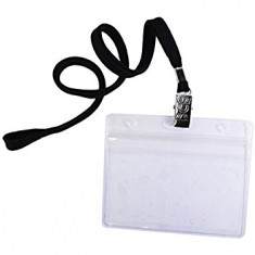 Black Lanyards with Name Tag