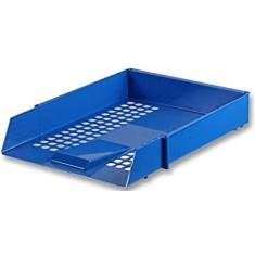 Desk Trays Plastic F/C Blue