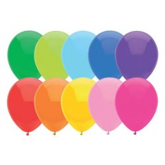 Balloons 23cm Assorted x 100 S / S
