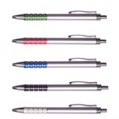 Ball Pen D550 Blue - Retractable - Diamonds ( x 20 )