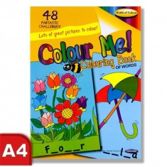 Colouring Book - Perforated 48 pages - Fun Activity