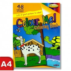 Colouring Book - Perforated 48 pages - Pets