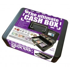Cash Box - with bank note storage
