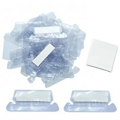 Crystal Tags + Inserts for Hanging Files x 25
