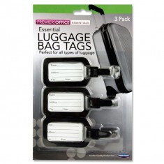Office Card 3 Luggage Bag Tags