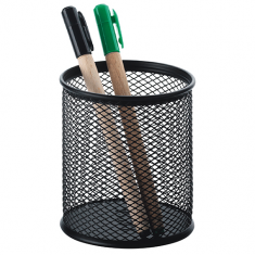 Mesh Pen Holder Black - CASSA