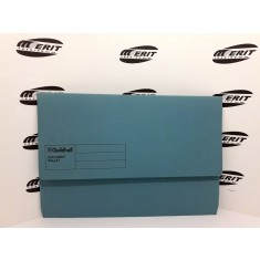 Document Wallet F/C Blue