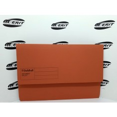 Document Wallet F/C Orange