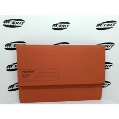 Document Wallet F/C Orange