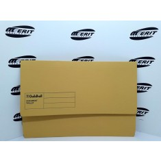 Document Wallet F/C Yellow