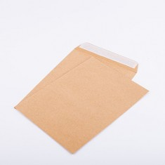 Env size 162 x 229  A5 - Brown Strip Seal 90 gsm