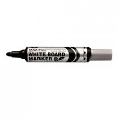 Pentel - White Board Markers - PUMP - Black Thick ( x 12 )