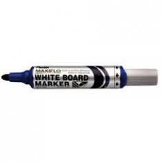 Pentel - White Board Markers - PUMP - Blue Thick ( x 12 )