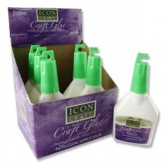 PVA White Craft Glue ( 250 ml ) - PREMIER ( x 6 )