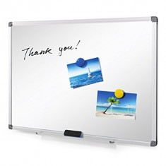 White Boards Magnetic, Aluminum Frame size 90 x 120