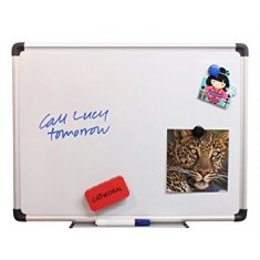 White Boards Magnetic, Aluminum Frame size 45 x 60