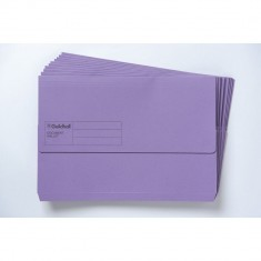Document Wallet - Guildhall - F/C Purple
