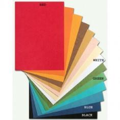 Binding Back Cover A4 PVC - White x 100 sheets