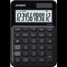 CASIO calculator 12 digits - Solar - BLACK