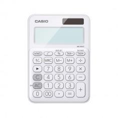 CASIO calculator 12 digits - Solar - WHITE