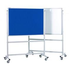 Rocada Mobile Felt Board size 100 x 150 Blue