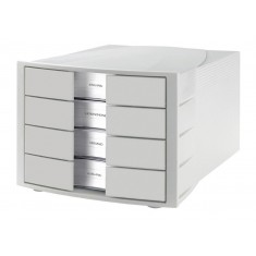 Desk Top Cabinet x 4 Drawers Grey