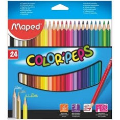 Colouring Pencils x 24 - MAP 183224