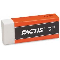 FACTIS - CODE 1100 Extra Soft Eraser ( x 20 )