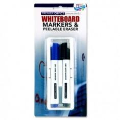 White Board eraser / Magnetic + 2 Markers - PREMIER