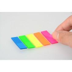 Page Markers - size 45 x 12 Neon 125 pcs - CASSA