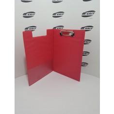 Clip Board Fold Over - RED