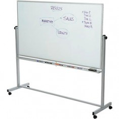 Easel - White Board size 70 x 100 on Wheels
