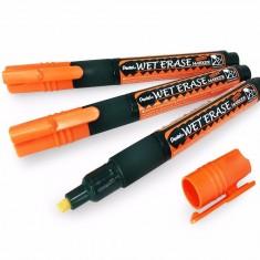 Pentel - CHALK MARKER ( Wet Erase ) - ORANGE