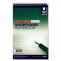 5 x 8 - Top Spiral - Short Hand Note Book ( x 10 ) PREMIER